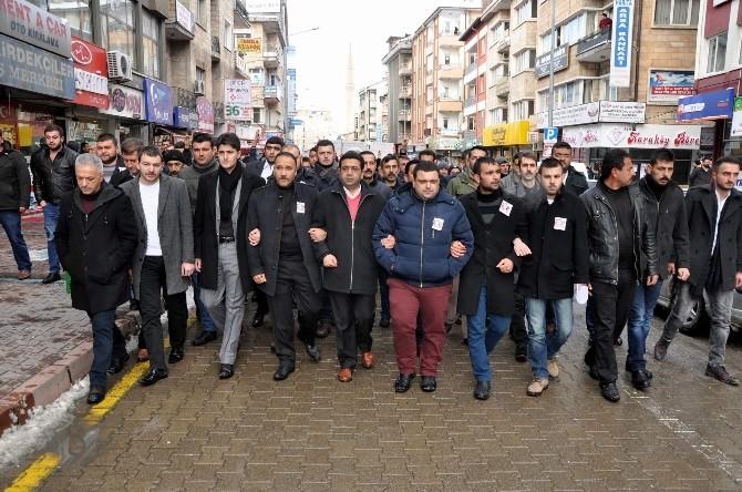 Nevşehir Ülkü Ocakları Çakıroğlu İçin Yürüdü