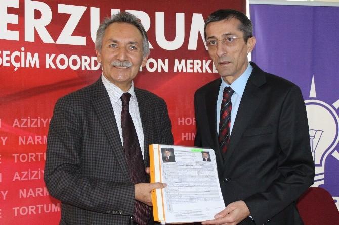 Çetinkaya, AK Parti'den Milletvekili Aday Adayı…
