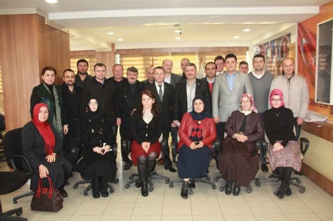 Milletvekili Aday Adayı Sarıoğlu Merkez İlçe Teşkilatını Ziyaret Etti