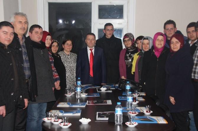 Sarıoğlu Kaynaşlı Teşkilatını Ziyaret Etti
