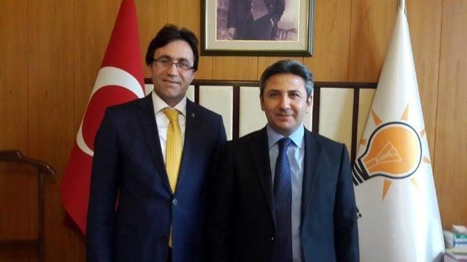 Korkut'tan, Ahmet Aydın'a Teşekkür Ziyareti