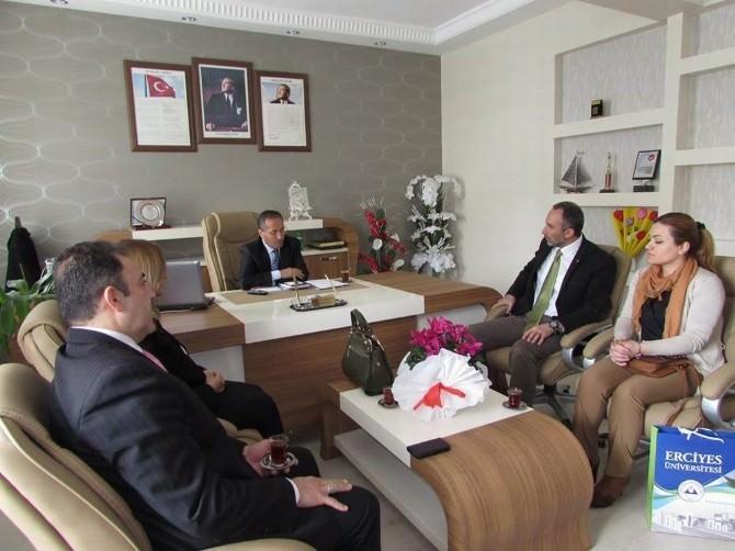 TEMA Kayseri Temsilciliği'nden Talas İlçe Milli Eğitim Müdürüne Ziyaret