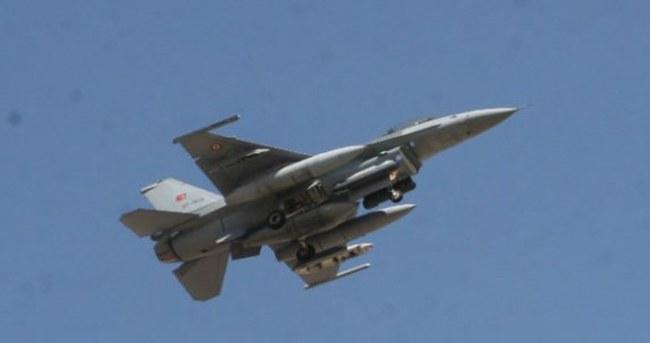 Suriye sınırına F-16 gönderildi