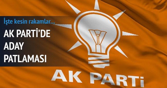 AK Parti'de aday patlaması