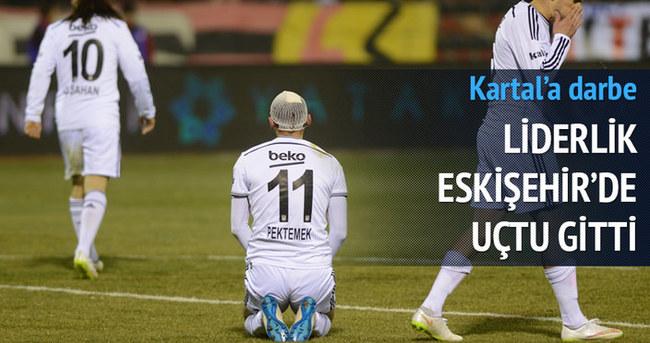 Beşiktaş liderlikten oldu