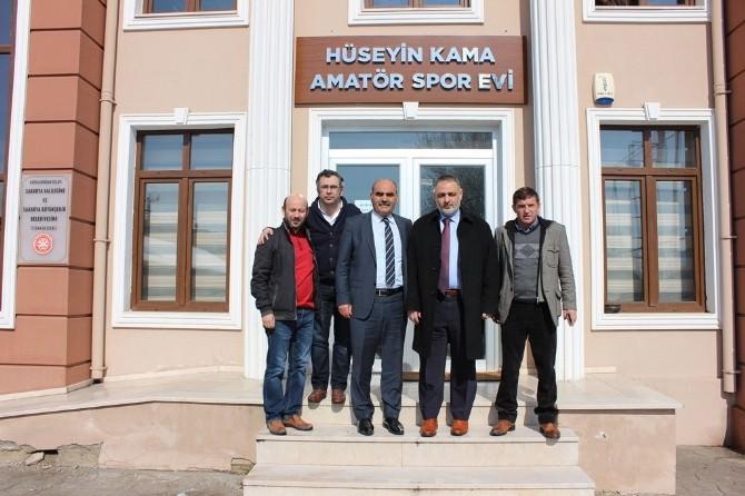 """AK Parti Milletvekili Aday Adayı Recep Hacıeyüpoğlu; """"Ben Sporun İçinde Olan Birisiyim''"""