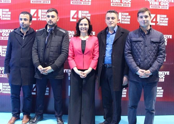 Rabia Gözpınar Yeniden Başkan