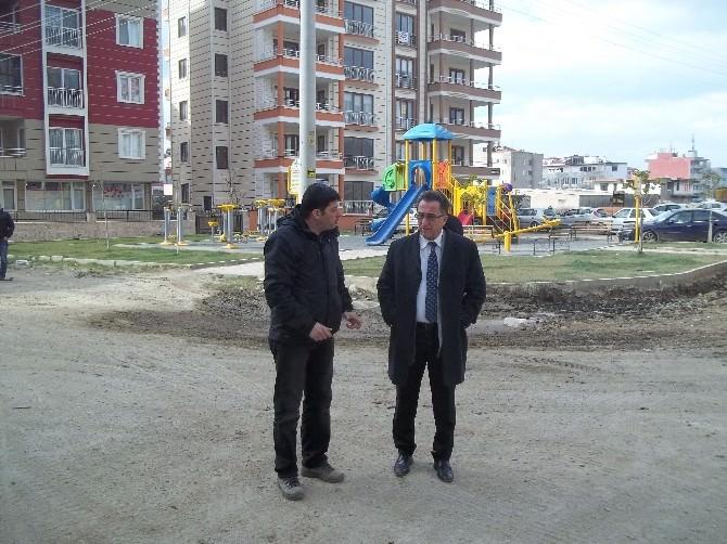 Edremit'te Cadde Ve Sokaklarda Yeniden Düzenleme Çalışmaları Başladı