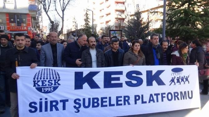 KESK'ten İç Güvenlik Paketi Protestosu