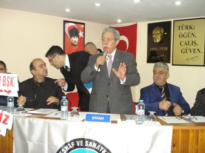 Tarsus Ekkk'de Başkan Şahin Güven Tazeledi