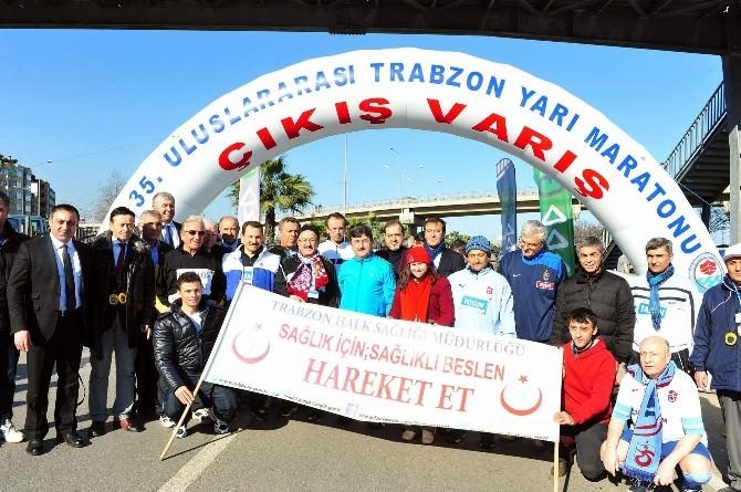 35. Uluslar Arası Yarı Maratonu Koşuldu