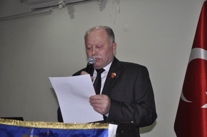 Muharip Gaziler Derneği Başkanı Çakal Güven Tazeledi