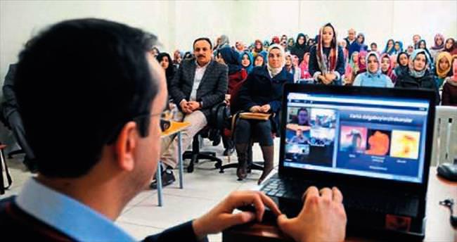 Türk öğrenciler NASA'ya bağlandı