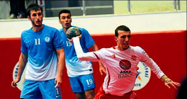Antalyaspor hentbolda Ankara'da mağlup oldu