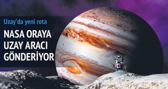 Uzayda yaşamın izinde yeni rota: Europa