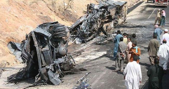 Pakistan'da LPG patlaması