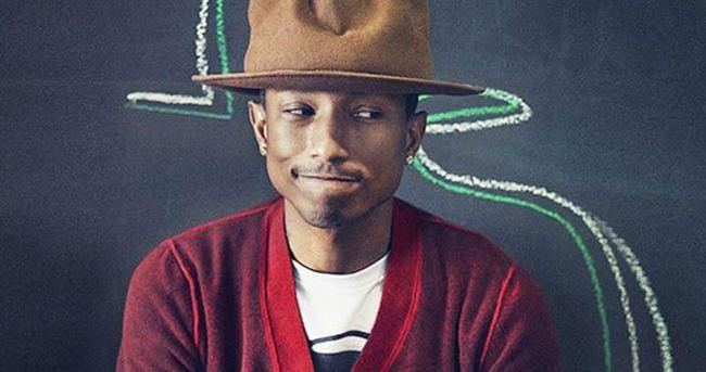 Pharrell çocukları sevindirecek