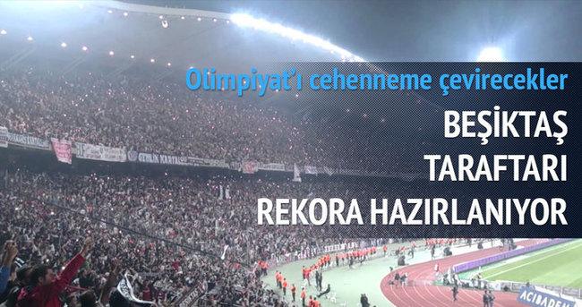 Beşiktaş taraftarı Liverpool için rekora hazırlanıyor