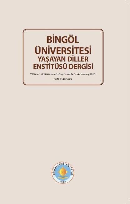 Yaşayan Diller Enstitüsü Dergisi Çıktı