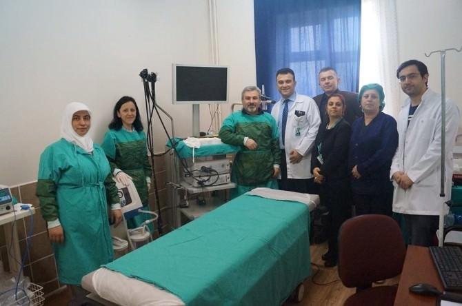 Devlet Hastanesinde Kolonoskopi Hizmeti Başladı