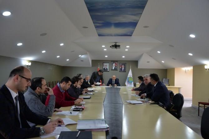 Hendek Belediyesi Haftalık Koordinasyon Toplantısı Gerçekleşti