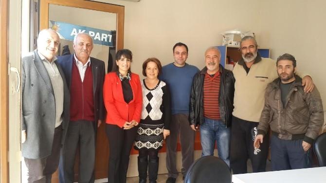 AK Partili Ölmez'den Bir Günde Üç İlçe Ziyareti