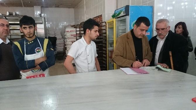 Cizre'de Esnafa Yönelik Ruhsat, Gıda Ve Hijyen Denetimi