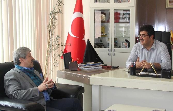 Prof Dr. Ahmet Maranki'den Bozkurt Belediyesi'ne Ziyaret