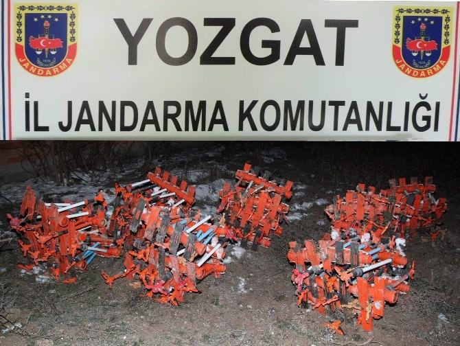 Yozgat Jandarma Hırsızları Suçüstü Yakaladı