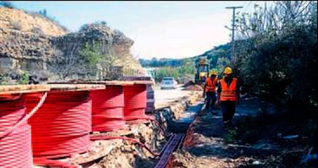 EXPO'da elektrik hattı tamamlandı