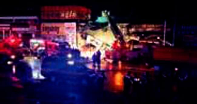 Ostim'de LPG tankı patladı: 5 yaralı