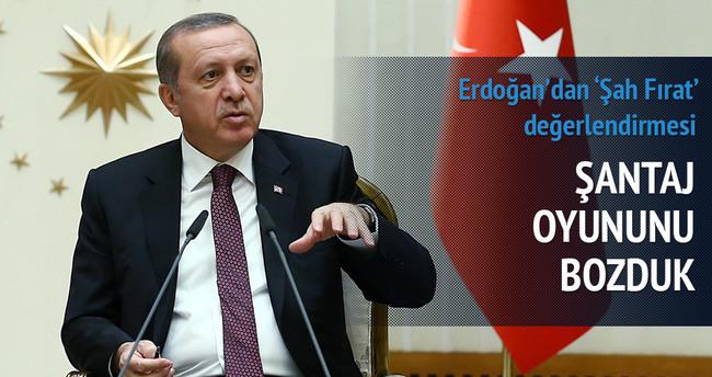 'Şah Fırat Operasyonu şantaj oyununu bozdu'