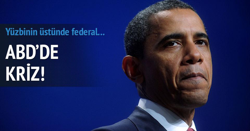 ABD'de bütçe krizi