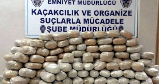 205 kilo esrarla yakalan polis memuru tutuklandı