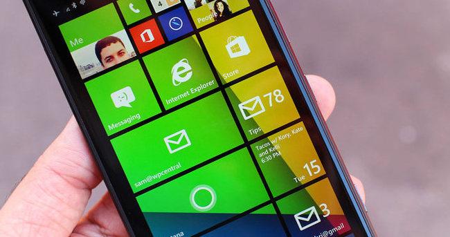 Windows Phone'da değişim!