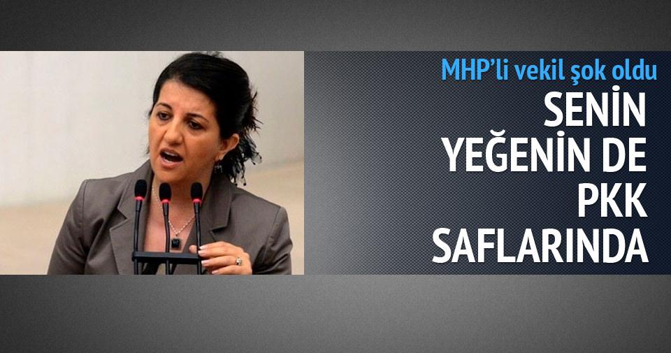 Buldan'dan MHP'li vekile: Senin yeğenin de PKK saflarında
