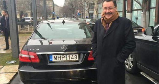 Başkan Gökçek'e MHP plakalı araç ile karşılama