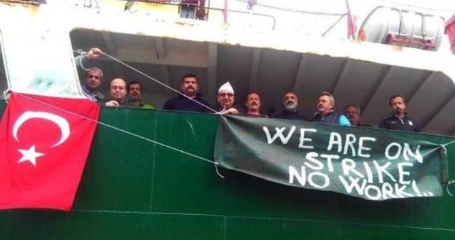 Fas'ta Türk gemi işçileri mahsur