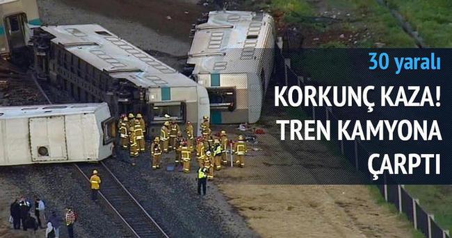 Korkunç tren kazası: 30 yaralı