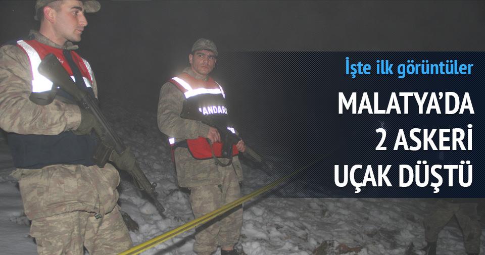 Malatya'da 2 savaş uçağı düştü: 4 şehit