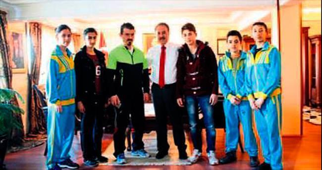 Özcan Spor'dan Şahin'e ziyaret
