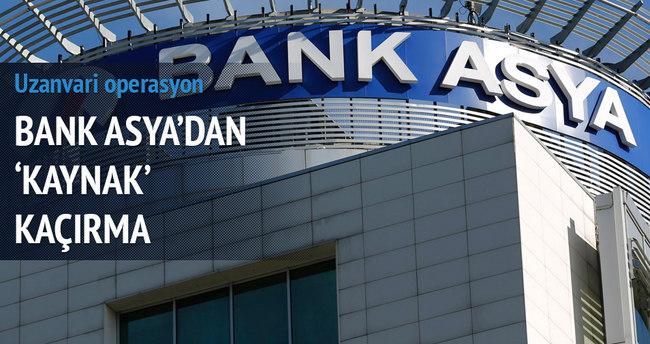 Bank Asya'dan 'Kaynak' kaçırma