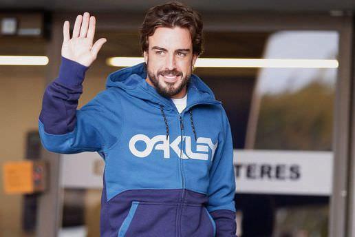 Fernando Alonso taburcu edildi