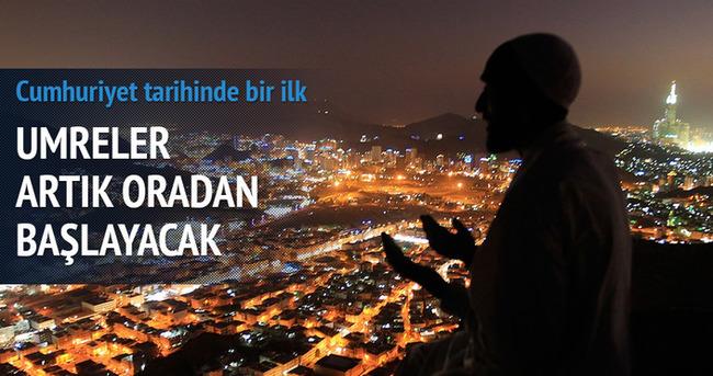 Türkiye tarihinde ilk; umre ilk kıbleden başlayacak