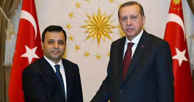 Erdoğan yeni AYM Başkanı Arslan'ı kabul etti
