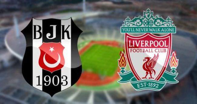 Beşiktaş Liverpool! Dev maç başladı