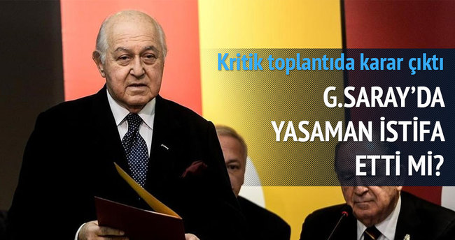 Galatasaray'da Hamdi Yasaman için karar verildi