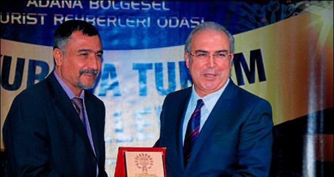 Halil Avcı'ya turizm ödülü
