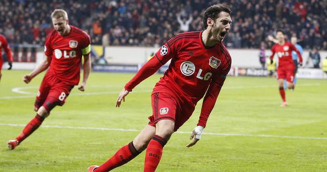 Çalhanoğlu cesaretli Leverkusenlileri ödüllendirdi