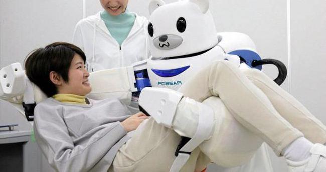 Yürüyemeyen hastalar için robot üretildi